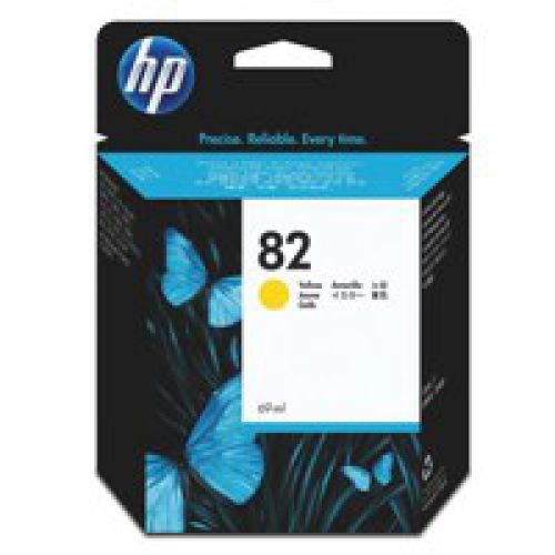 HP CH568A NO82 INK CARTRIDGE 28ML YELLOW