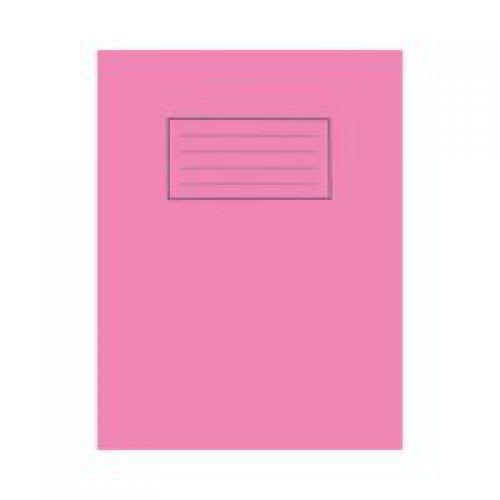 Silvine 9x7 Exercise Book Plain Pink PK10