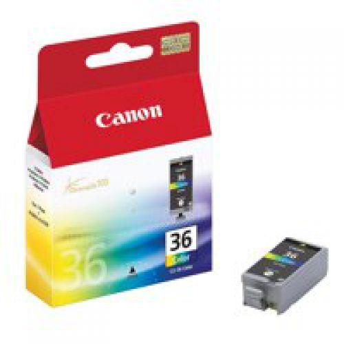Canon 1511B001 CLI36 Colour Ink 12ml