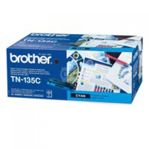 Brother TN135C Cyan Toner 4K