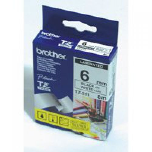 Brother TZE731 Black on Green Label Tape 12mmx8m