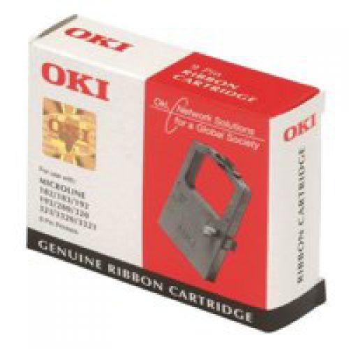 OKI 09002308 Black Ribbon 10 Million Characters