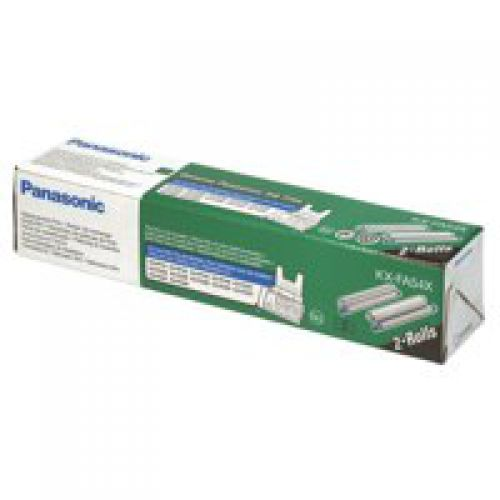 Panasonic KX-FA54X (Yield: 330 Pages) Black Ink Ribbon Cartridge Pack of 2