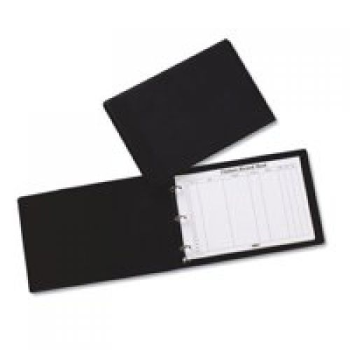 Concord Visitor Book 230x335mm with 50 Sheets 2000 Entries Black/Grey 85710