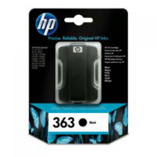 HP C8721E 363 Black Ink 6ml