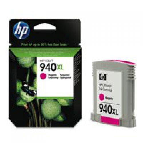 HP C4908A 940XL Magenta Ink 21ml