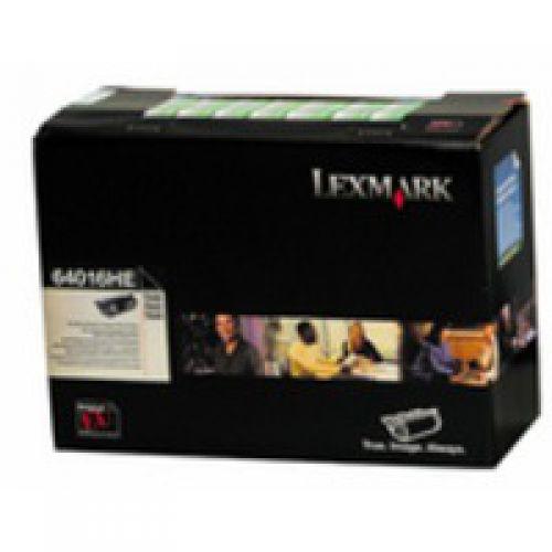 Lexmark 64016HE Black Toner 21K
