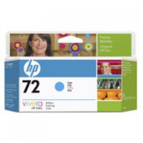 HP C9371A 72 Cyan Ink 130ml