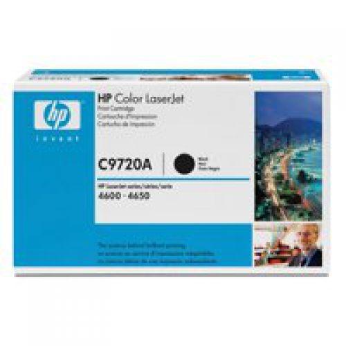 HP C9720A 641A Black Toner 9K