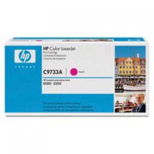HP C9733A 645A Magenta Toner 12K