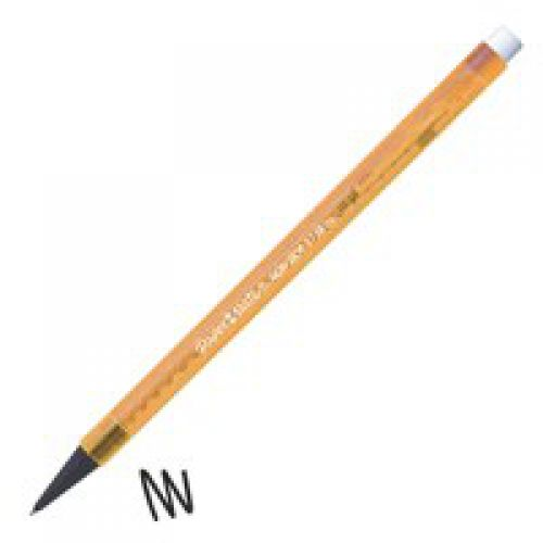 Paper Mate Non Stop Mechanical Pencil HB 0.7mm Lead Amber Barrel (Pack 12)
