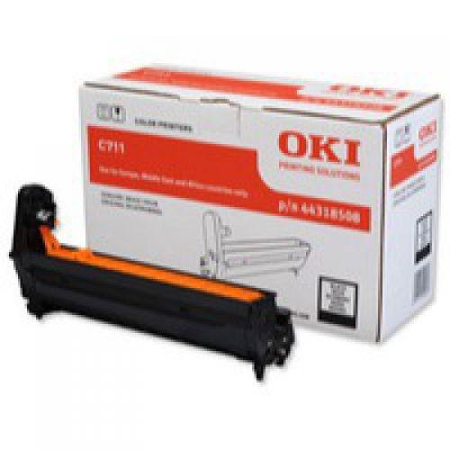 OEM OKI C711 Black 20000 Pages Original Drum 44318508