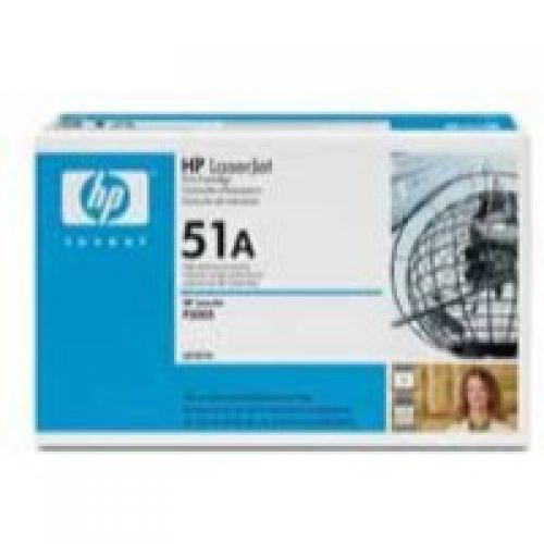HP 51A Black Standard Capacity Toner 6.5K pages Q7551A