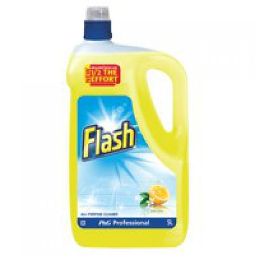Flash All Purpose for Washable Surfaces Lemon Fragrance 5 litre