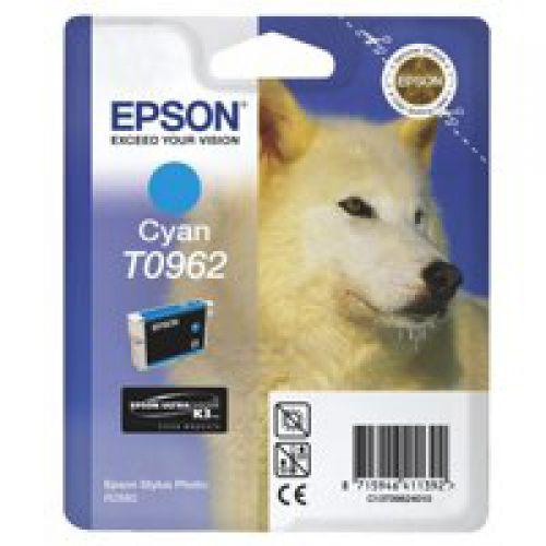 Epson C13T09624010 T0962 Cyan Ink 11ml