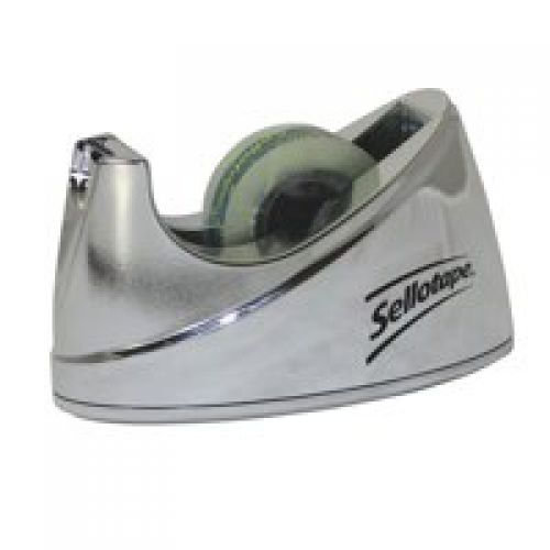 Sellotape Dispenser Small Chrome 504045