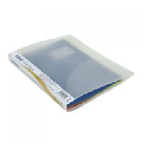 Rapesco Oversized Ring Binder Polypropylene 2 O-Ring A4 Plus 15mm Rings Clear (Pack 10)