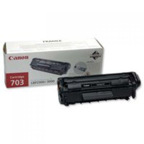Canon 7616A005 703 Black Toner 2K