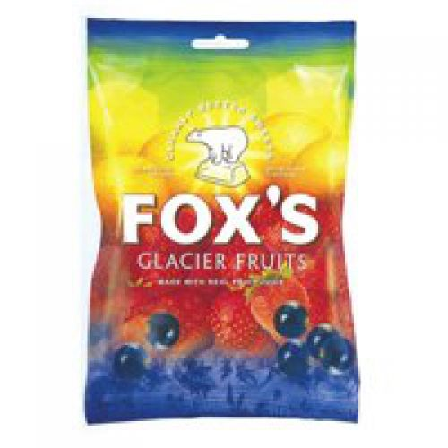 Foxs Glacier Fruits 195g PK12