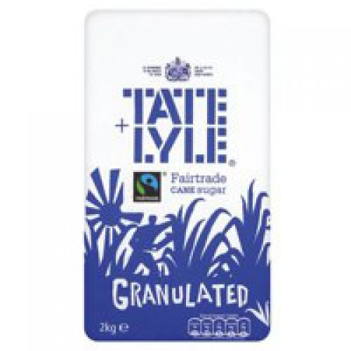 Tate & Lyle Granulated Pure Cane Sugar Bag 2kg
