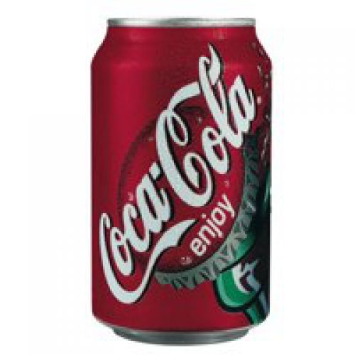 Coca Cola 330ml Cans PK 24