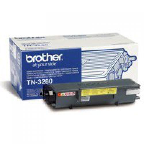 OEM Brother TN-3280 Black 8000 Pages Original Toner