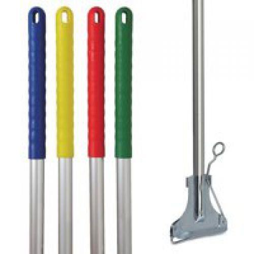 Charles Bentley Kentucky Mop Handle & Clip Blue