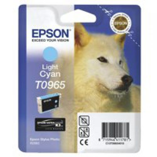 Epson C13T09654010 T0965 Light Cyan Ink 11ml