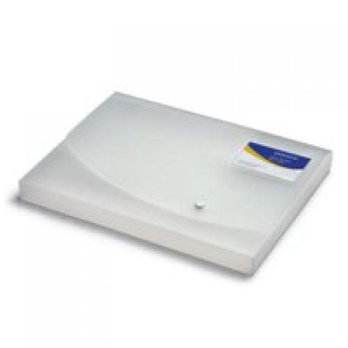 Rapesco Wallet Box File A4 25mm Clear