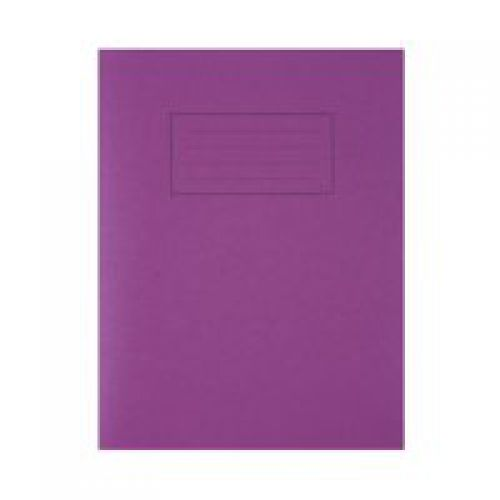 Silvine 9x7 Exercise Book Ruled Purple PK10