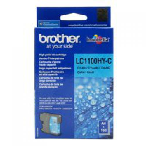 Brother LC1100HYC Cyan Ink 10ml
