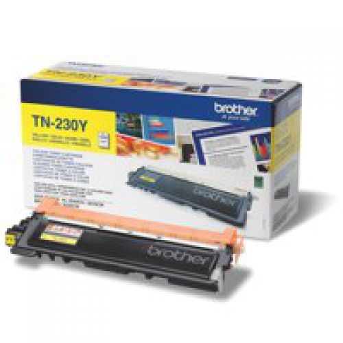 Brother TN230Y Yellow Toner 1.4K