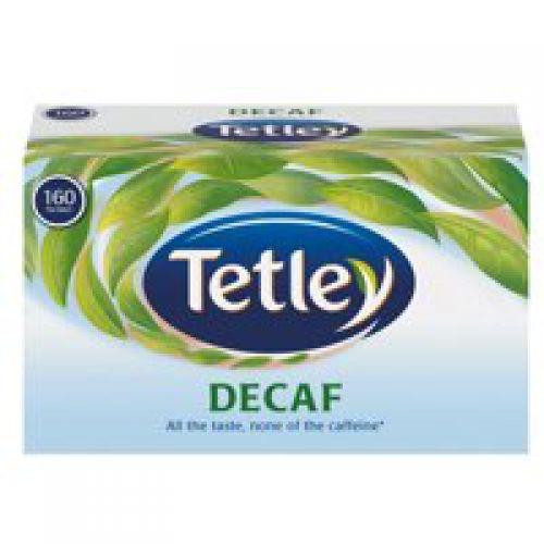 Tetley Decaffeinated Tea Bags A06070 [Pack 160]