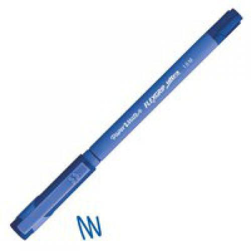 Paper Mate Flexgrip Ultra Ballpoint Pen 1.0mm Tip 0.4mm Line Blue (Pack 12)