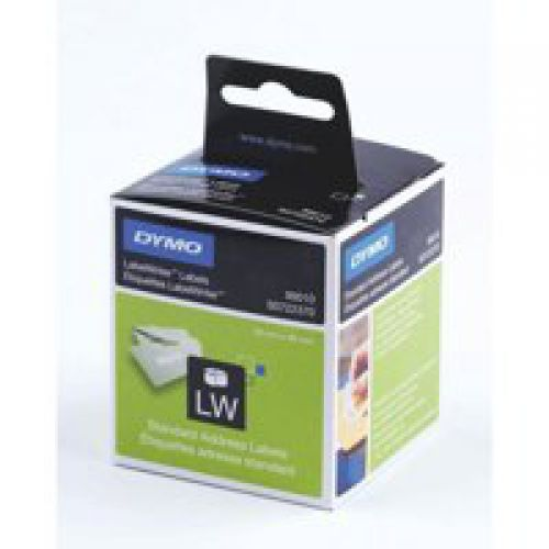Dymo Labelwriter Labels Standard Address 28x89mm 99010 S0722370 [Pack 2x130]