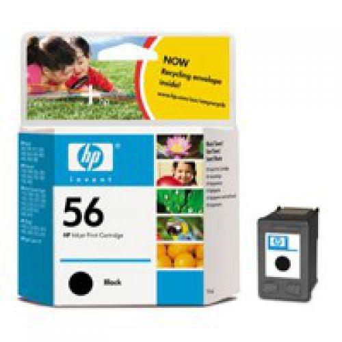 HP C6656A 56 Black Ink 19ml