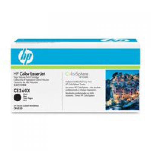 HP CE260X 649X Black Toner 17K