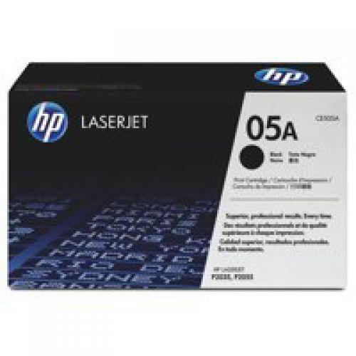 OEM HP CE505A Black 2300 Pages Original Toner