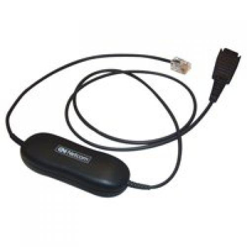 Smart Cord QD to RJ9 straight 0.8 mete