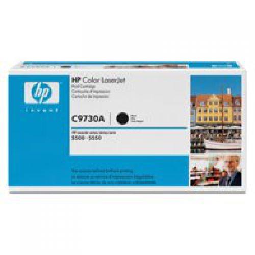 HP C9730A 645A Black Toner 13K