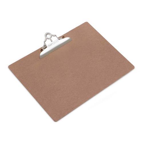Rapesco Hardboard Clipboard A3 Brown RMCA3001