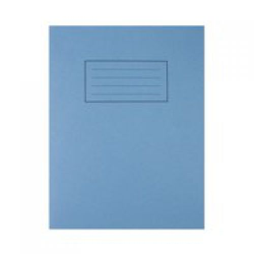 Silvine 9x7 Exercise Book 7mm Square Blue PK10