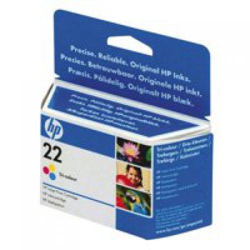 HP C9352A 22 Tricolour Ink 5ml