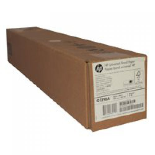 HP Universal Bond Inkjet Paper 80gsm 24 inch Roll 610mm x 45.7m Q1396A