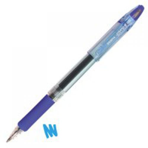 Zebra Jimnie Rollerball Gel Ink Pen Medium Blue PK12