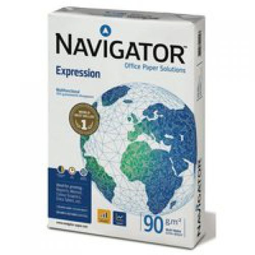 Navigator Expression Paper 90gsm A4 (Box 5 Reams)
