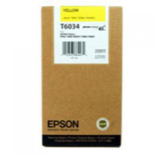Epson C13T603400 T6034 Yellow Ink 220ml