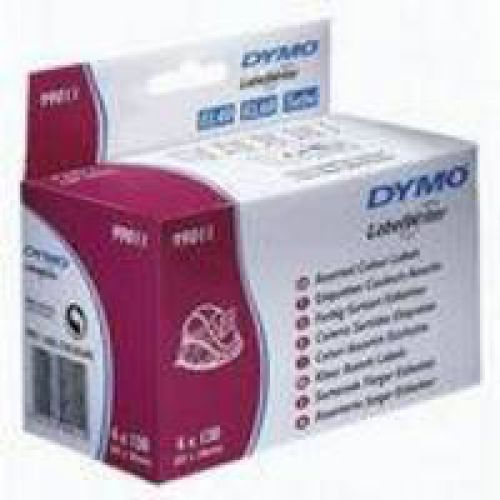 Dymo Labelwriter Labels Assorted Colours 28x89mm 99011 S0722380 [Pack 4x130]