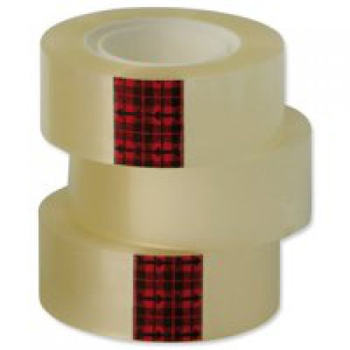 Scotch 508 Easy Tear Clear Tape 24x33 [Pack 6 rolls] 7000088869