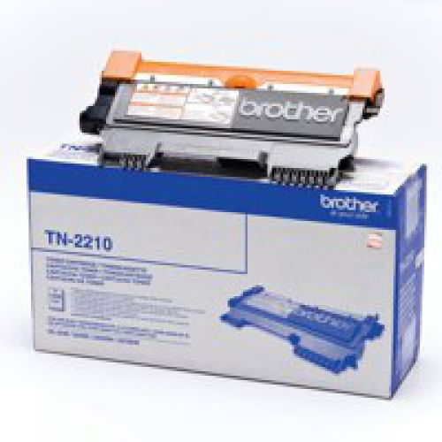 OEM Brother TN-2210 Black 1200 Pages Original Toner